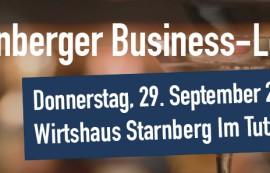 Die 3. Starnberger Business Lounge kommt!